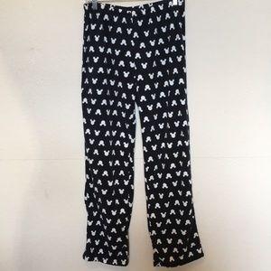 Disney Mickey pj bottoms in black Sz M
